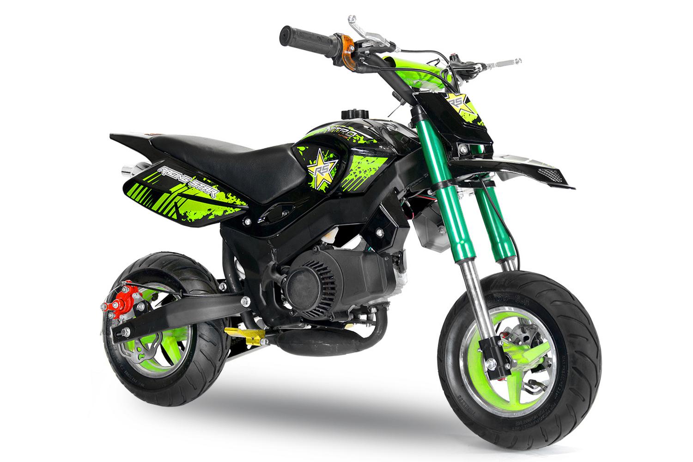 pocket bike nitoo hobbit 49cc motocross kindermotorrad. Black Bedroom Furniture Sets. Home Design Ideas