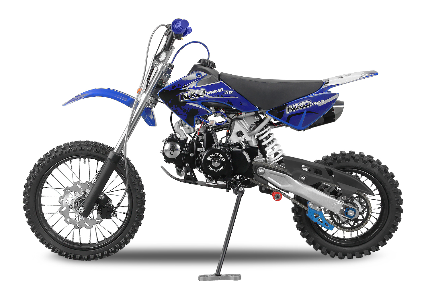 dirtbike 125ccm automatik crossbike enduro motorrad. Black Bedroom Furniture Sets. Home Design Ideas