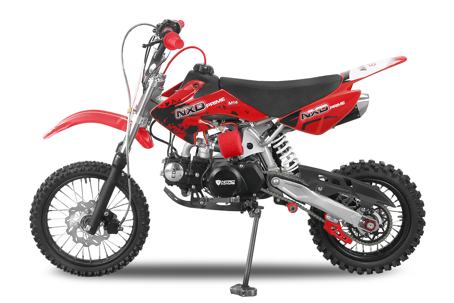 dirtbike 125ccm crossbike enduro motorrad mini cross pitbike motocross 4takter ebay. Black Bedroom Furniture Sets. Home Design Ideas
