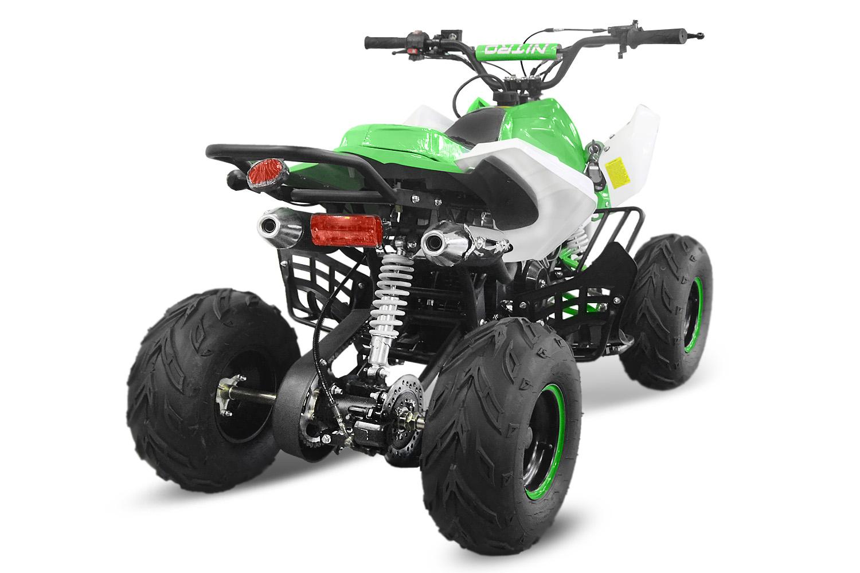 nitro midi quad 125 ccm 4 takt motor pocket dirt bike. Black Bedroom Furniture Sets. Home Design Ideas