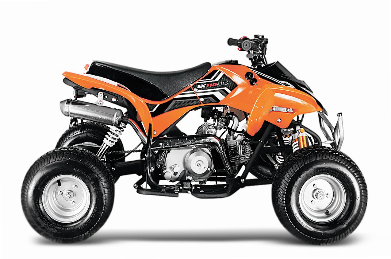 quad grizzly 125cc automatik motocross kindermotorrad. Black Bedroom Furniture Sets. Home Design Ideas