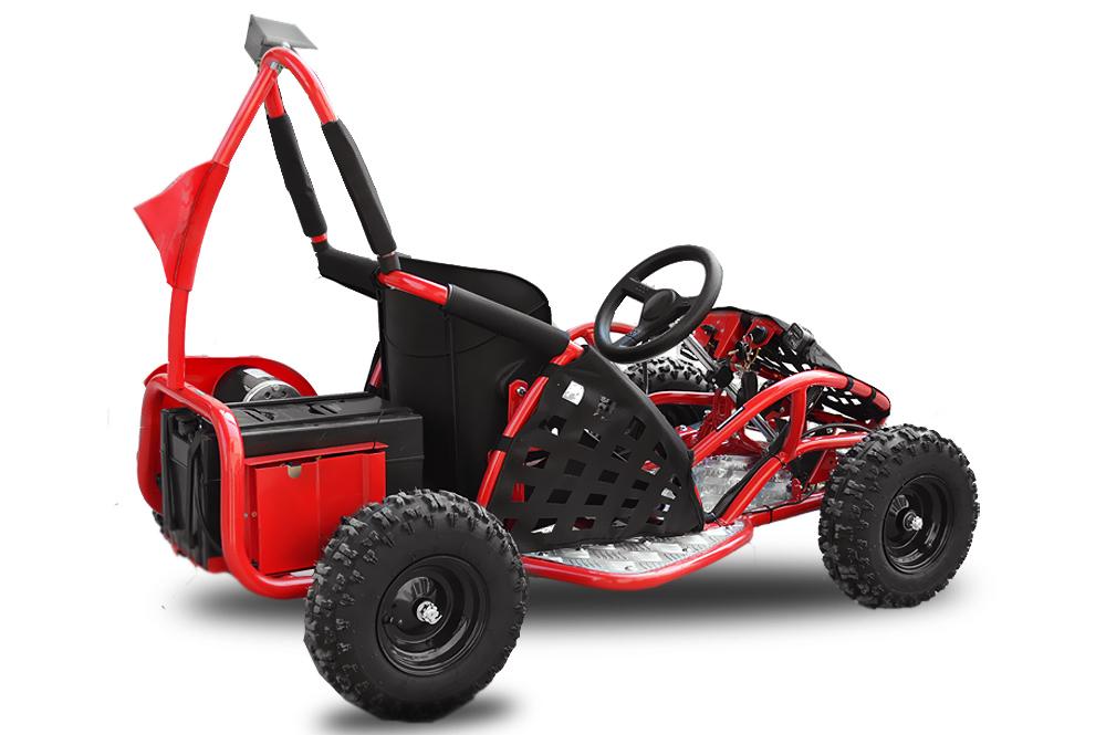 elektro go kart 48 volt 1000 watt 6 zoll motocross. Black Bedroom Furniture Sets. Home Design Ideas