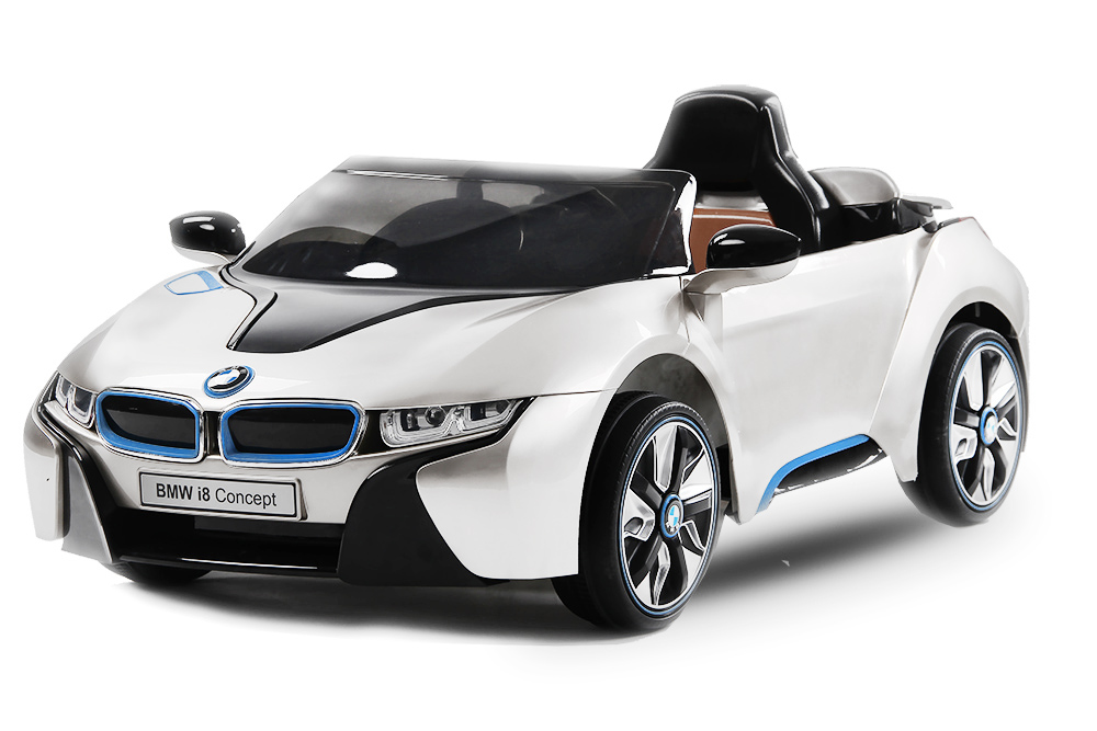 lizenz bmw elektro kinderauto bmw i8 2x 35w motor elektroauto kinderfahrzeug ir. Black Bedroom Furniture Sets. Home Design Ideas