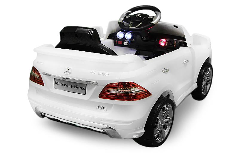 lizenz elektro kinderauto mercedes ml350 2x25w motor suv. Black Bedroom Furniture Sets. Home Design Ideas