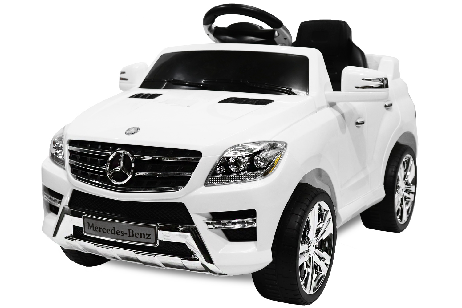lizenz elektro kinderauto mercedes ml350 2x25w motor suv. Black Bedroom Furniture Sets. Home Design Ideas