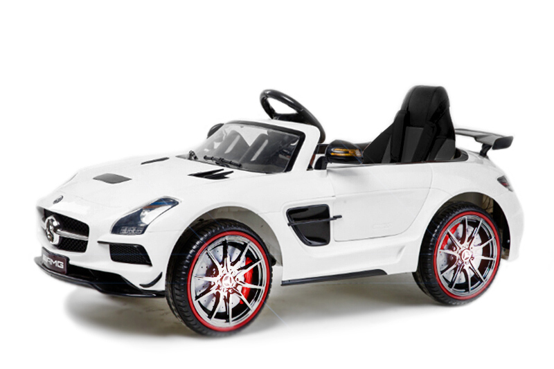 lizenz elektro kinderauto mercedes benz sls amg nv sls 2. Black Bedroom Furniture Sets. Home Design Ideas
