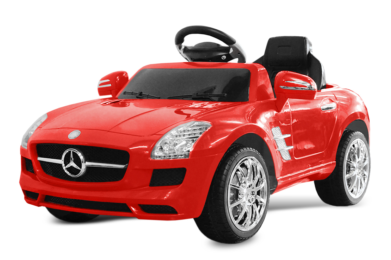 lizenz kinder elektro auto mercedes sls amg 2x 25w 6v. Black Bedroom Furniture Sets. Home Design Ideas