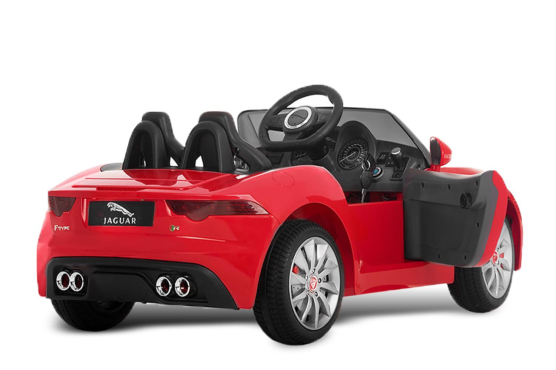 lizenz kinder elektro auto jaguar f type 2x 35w 12v. Black Bedroom Furniture Sets. Home Design Ideas