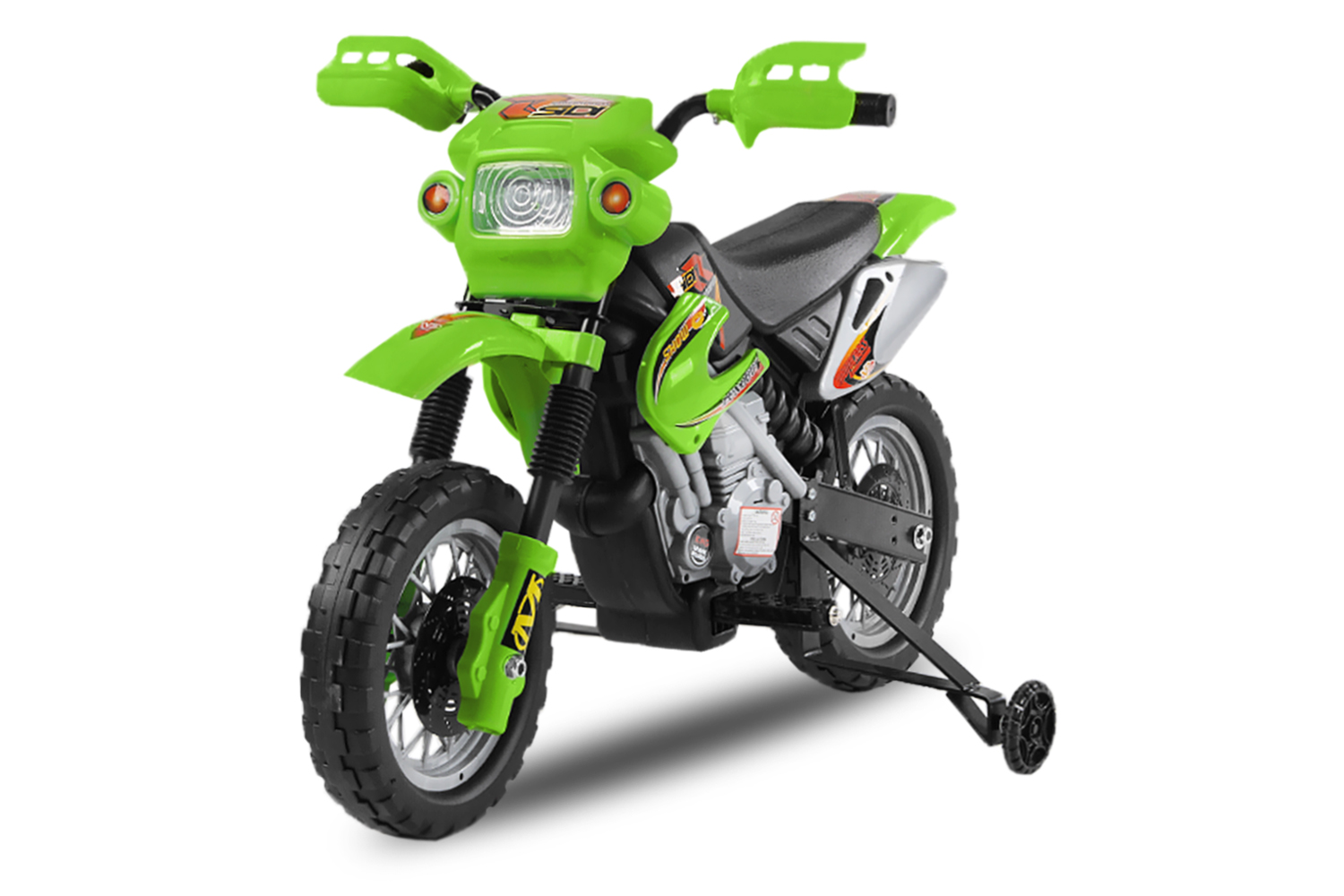 kinder elektro motorrad enduro bike 30w 6v elektroauto. Black Bedroom Furniture Sets. Home Design Ideas