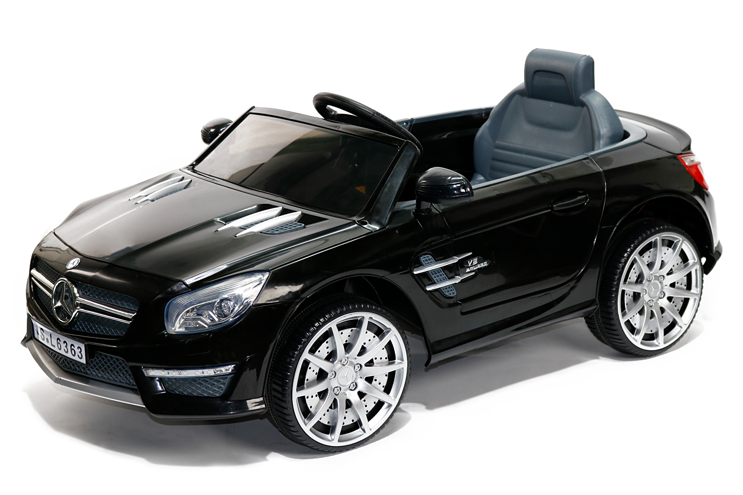 lizenz kinder elektro auto mercedes sl63 amg. Black Bedroom Furniture Sets. Home Design Ideas