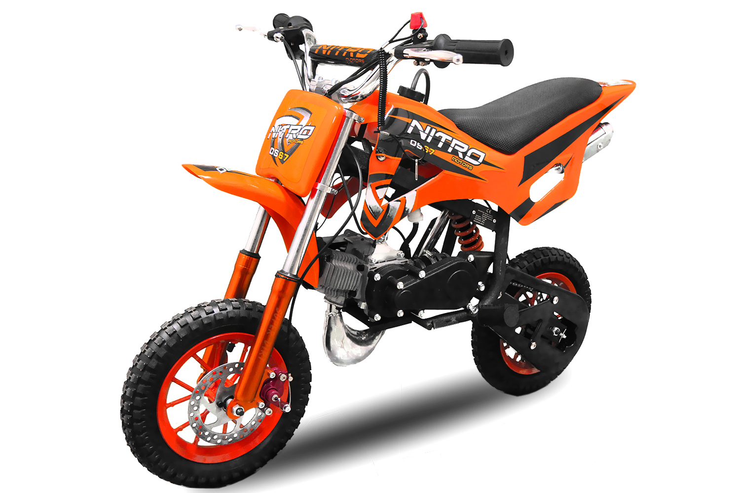 49cc takt mini dirt bike nitro ds 67 motocross. Black Bedroom Furniture Sets. Home Design Ideas