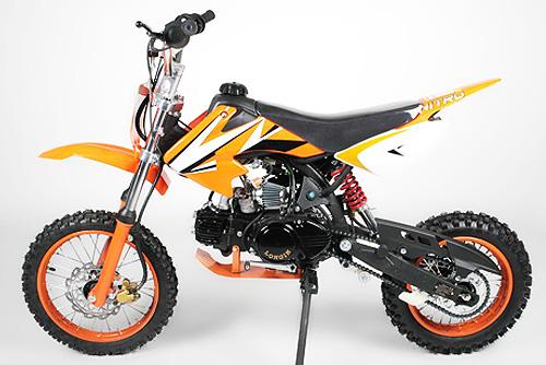 pitbike dirtbike crossbike 125ccm 4 takt motor enduro. Black Bedroom Furniture Sets. Home Design Ideas
