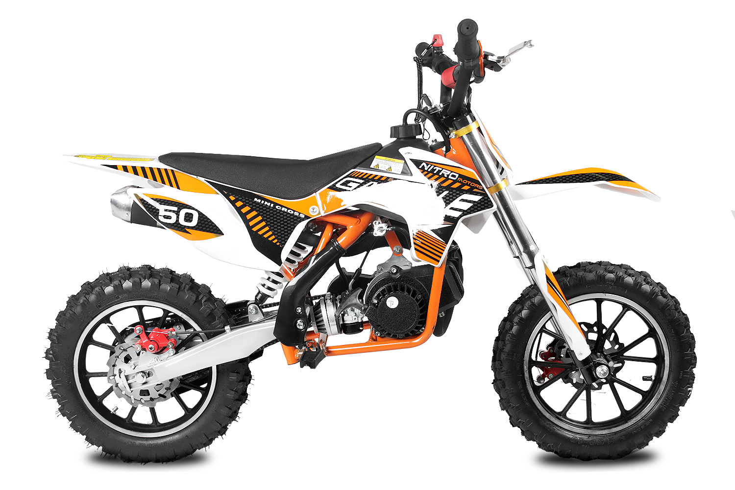 nitro gazelle 49cc 2 takt dirt bike motocross. Black Bedroom Furniture Sets. Home Design Ideas