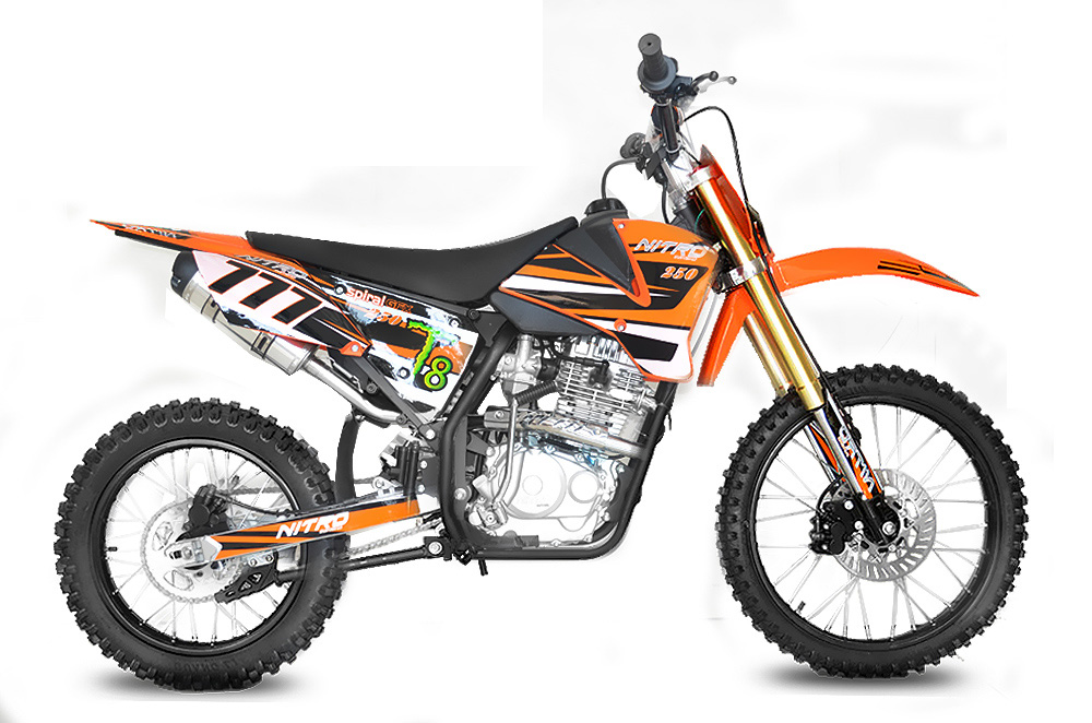 nitro motors hurrican 250cc motocross motocross. Black Bedroom Furniture Sets. Home Design Ideas