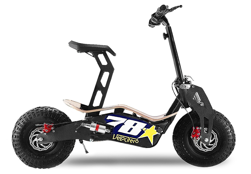 elektro scooter velocifero motocross kindermotorrad pit. Black Bedroom Furniture Sets. Home Design Ideas