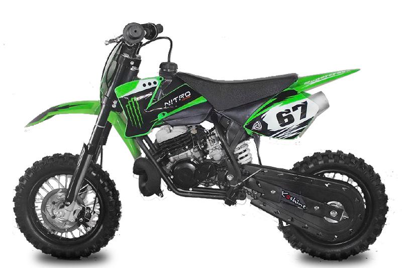 nitro nrg50 2 takt cross bike lk 10 10 motocross. Black Bedroom Furniture Sets. Home Design Ideas