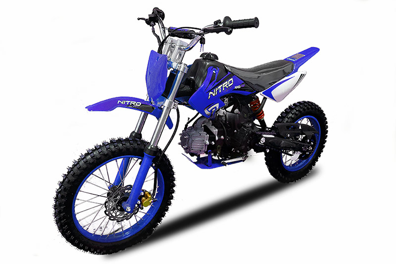 125ccm dirtbike pitbike 4 takter kxd jugendbike motorcross. Black Bedroom Furniture Sets. Home Design Ideas