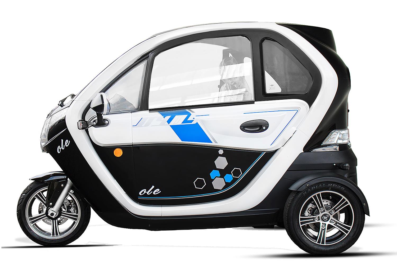 eec elektroauto geco ole 2000 inkl batterie und. Black Bedroom Furniture Sets. Home Design Ideas