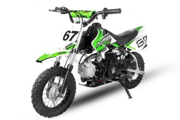 AUSGEMUSTERT 70cc Dirtbike Storm 10/10 Automatik mit E-Start Crossbike