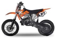 "50cc NRG50-14/12 DIRTBIKE 14"" | 2-Takter | KMT mit Kickstarter | Upsidedown"