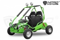 750W 60V Eco Buggy | 2-Stuffen Drossel | 6 Zoll Offroad Kinderbuggy