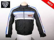 NITRO MOTORS MOTORRADJACKE RACING TEAM KINDERJACKE BLUE