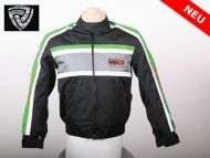 NITRO MOTORS MOTORRADJACKE RACING TEAM KINDERJACKE GREEN