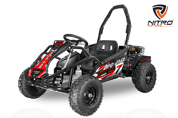 Nitro Motors Eco GoKid Dirty 1000W 48V 6 Zoll Offroad Kinderbuggy