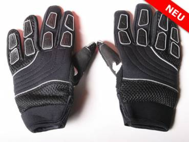 Nitro Cross Kinder Handschuhe aus Nylon Black