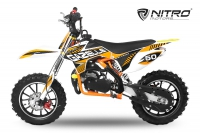 49cc Dirtbike Gazelle Deluxe E-Start Edition