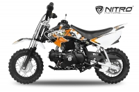 90cc Dirtbike Storm 10/10 Automatik mit E-Start Crossbike V2 | New Sticker Design