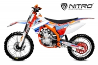 Nitro Motors Dirtbike 250cc Ultimate 21/18 Zoll 6-Gang Manuell Watercooling