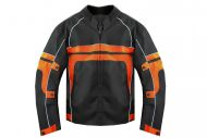 Cordura Fun MOTORRADJACKE RACING TEAM ERW. ORANGE